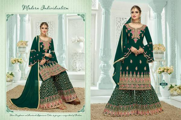 A.M Creation Dastoor Heavy Georgette with Work Eid Special Garara Suits Collection