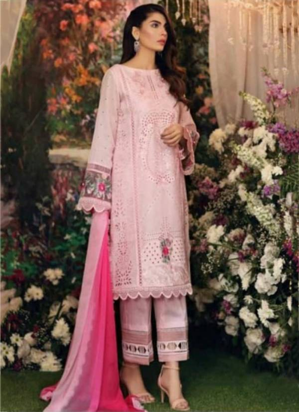 Bonaza Noor Lawn Cotton Fancy Embroidery Work Party Wear Pakistani Suits Collection