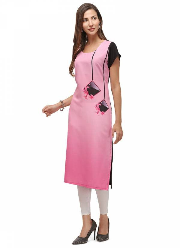 Velentino Trend Series VT2375-VT2383 Heavy Rayon With Digital Printed Daily Wear Kurtis Collection