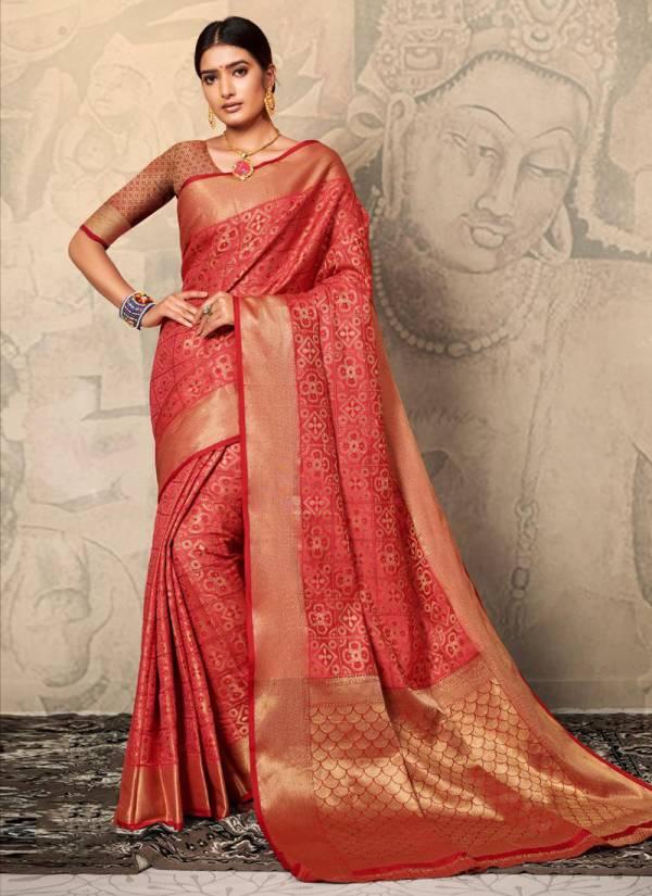 Mintorsi Reeva Series 23011-23016 Soft Banarasi Silk Designer Party Wear Sarees Collection