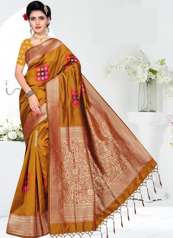 Vamika Heera Silk Series 2769-2774 Diwali Special Silk Stylish Look Exclusive Sarees Collection