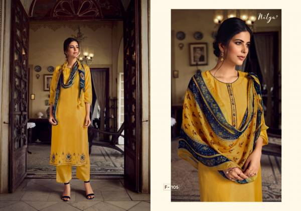 LT Nitya Fairy Series F-101 - F-106 Shree Silk With Fancy Work New Designer Eid Special Readymade Salwar Suits Collection
