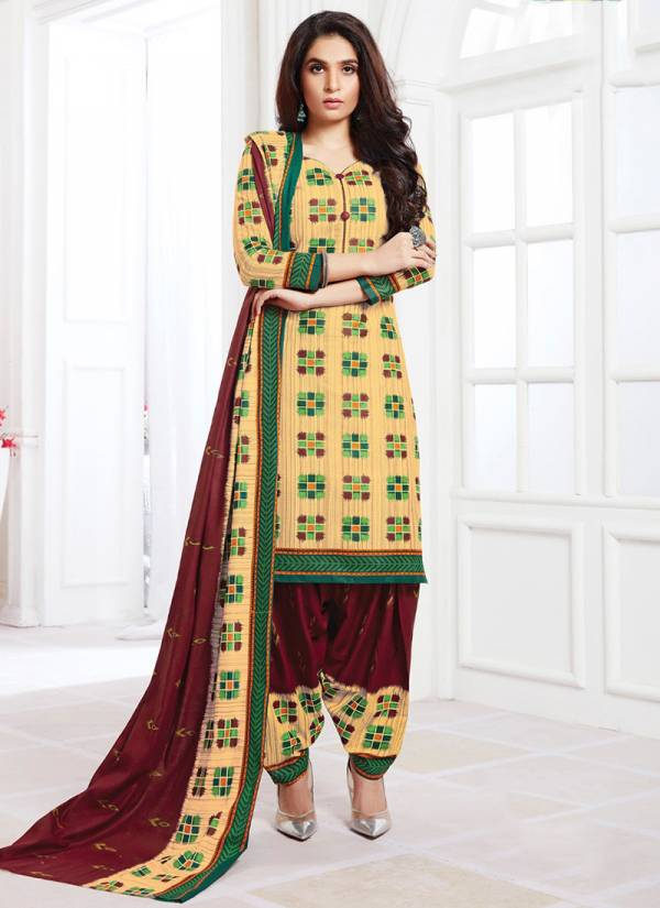 JT Cotton Titli Vol 7 Series 7001-7012 Pure Printed Cotton New Fancy Casual Wear Patiyala Suits Collection
