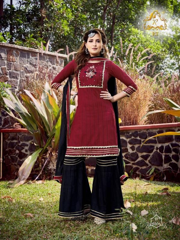 Rijiya Trendz Tjori Viscose Cotton Weaving Lining Readymade Wear Salwar Suit Collections