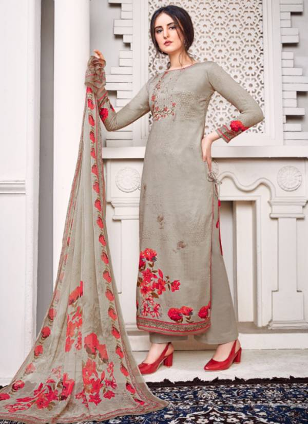 Shivam Exports Ruhaab vol 70 Series 1200-1209 Pure Jaam Print With Stylish Designer Embroidery Work Salwar Suits Collection
