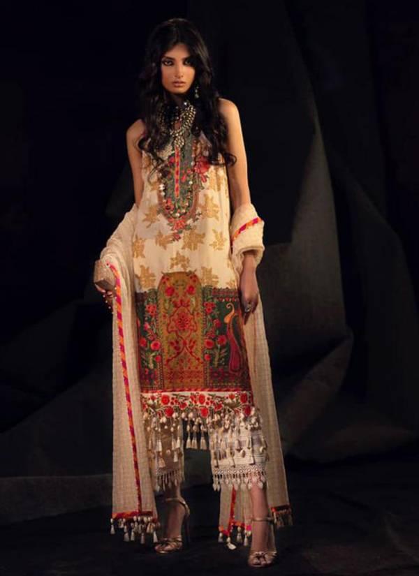 Deepsy Muzlin Vol 6 Muzlin751-Muzlin756 Self Embroidery Work Pure Jam Cotton New Designer Pakistani Suits Collection