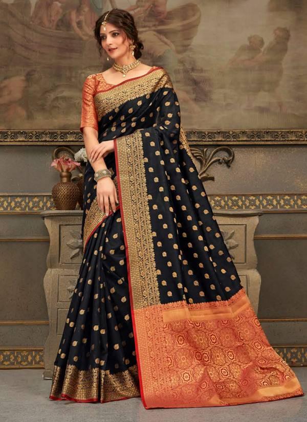 Sangam Sandhya Series sgsdh-1001-sgsdh-1006 New Designer Handloom Silk Wedding Wear Sarees Collection