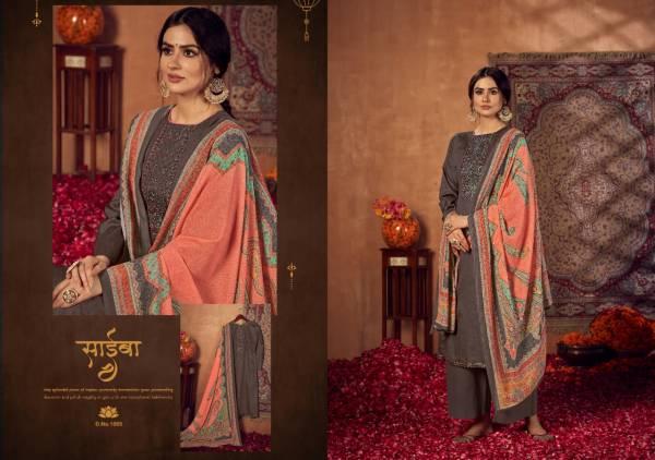 Siyoni Kilori Heavy Jam Silk Fancy Work Festival Wear Palazzo Suits Collection