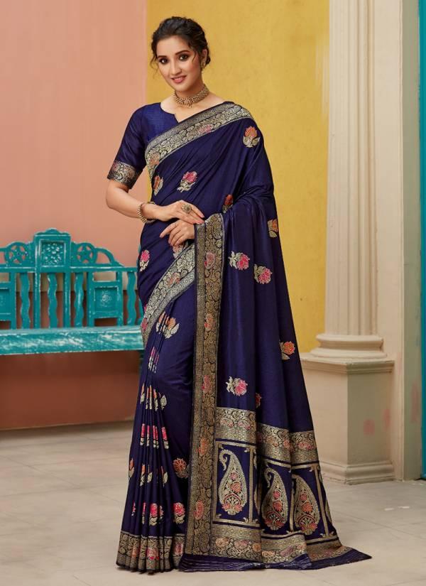 Takshaya Sheetal Series A-F Soft Silk With Zari Work New Designer Stunning Look Wedding Wear Sarees Collection