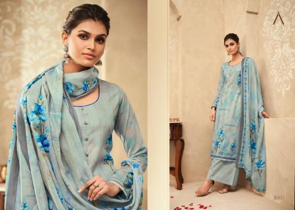 Anika Lown Cotton Sequence With Digital Printed Work Festival Wear Designer Salwar Suits Collection