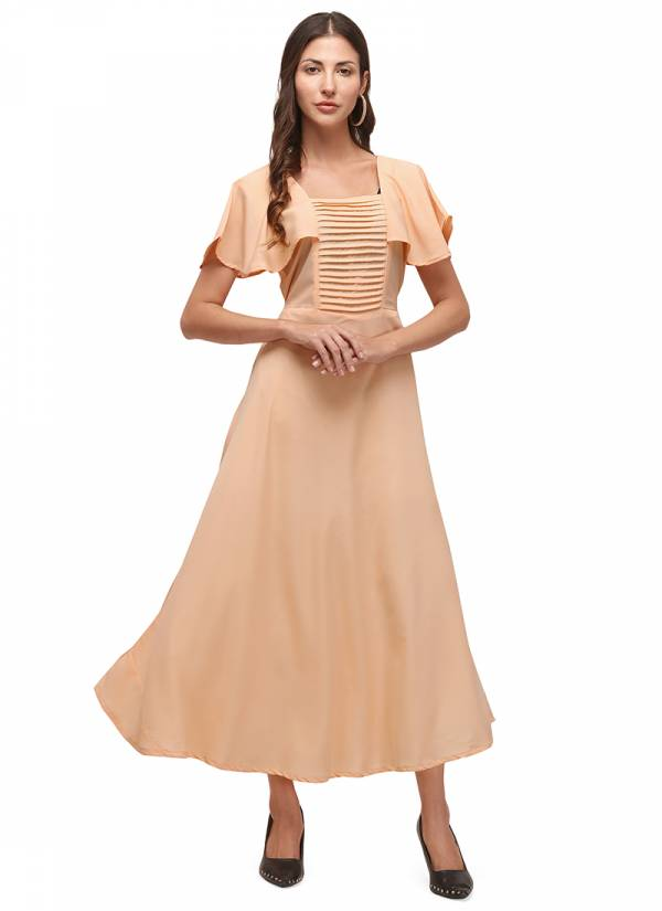 Velentino Trend Series VE01A-VE05A Heavy Crepe With Embellished New Designer Long Kurtis Collection