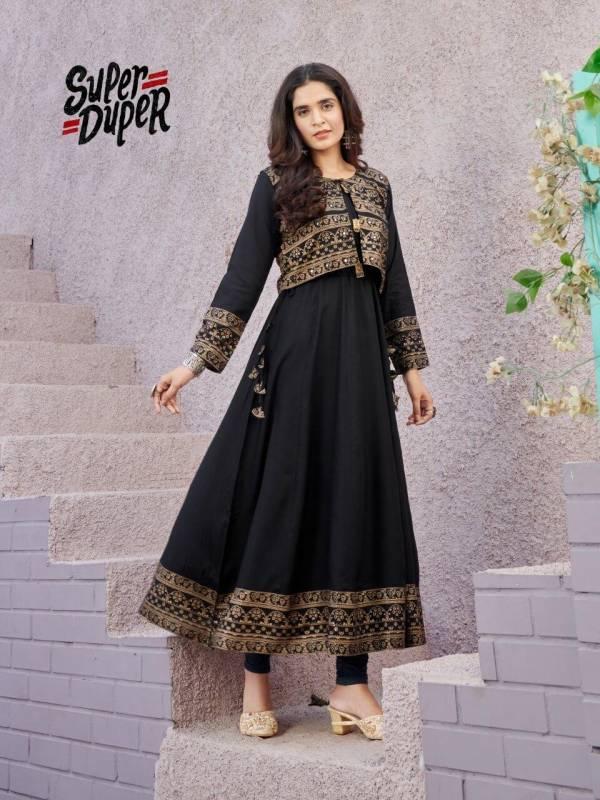Fab firki  Super Duper Hit Rayon Heavy Designer Readymade Kurti Collection