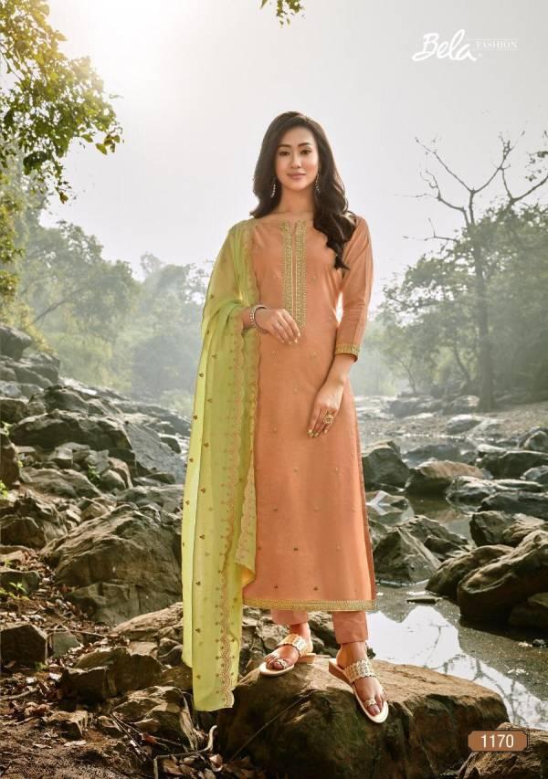 Bela Fashion Jashan Vol 2 Series 1170-1177 Chanderi Cotton With Stylish Work Party Wear Salwar Suits Collection