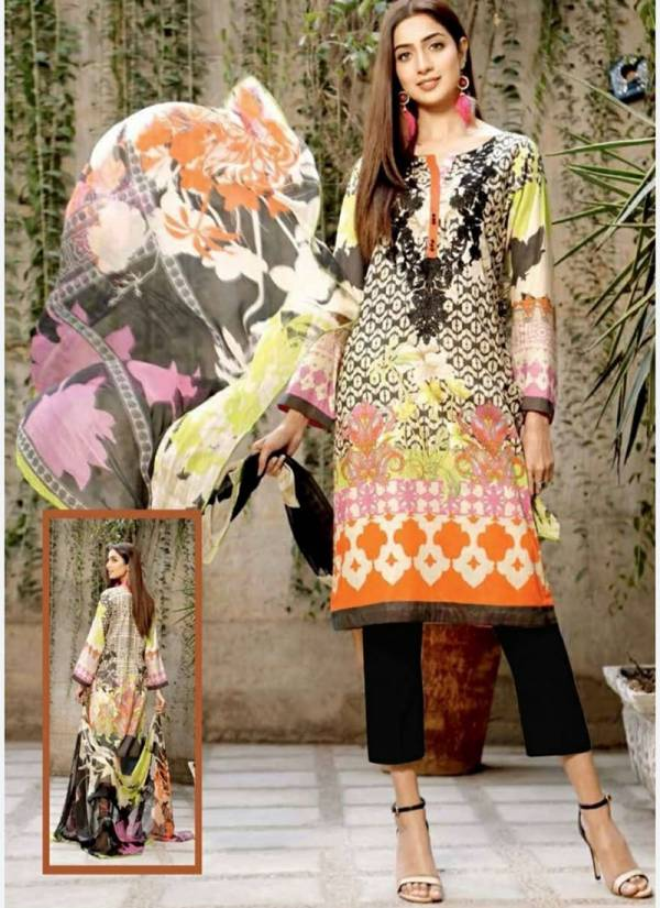 Keval Fab Noor Karachi Series 1001KFN-1010KFN Pure Cotton Latest Designer Daily Wear Printed Pakistani Suits Collection