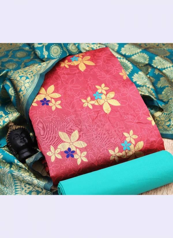 Rahul Nx Series 5-8 Banarasi Silk Traditional Wear New Designer Salwar Suits Collection