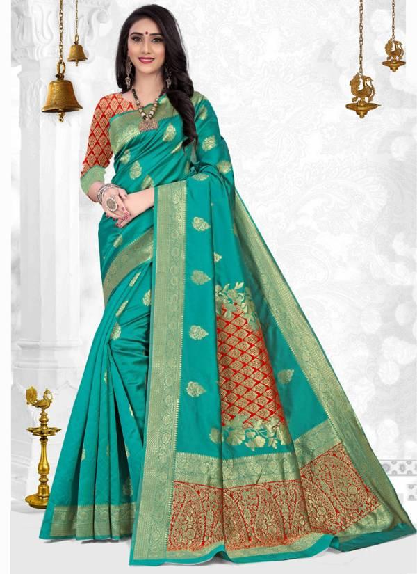 Kodas Gazania Series 25642-25647 Stylish Silk Handloom Cotton Silk Exclusive Designer Festival Wear Sarees Collection