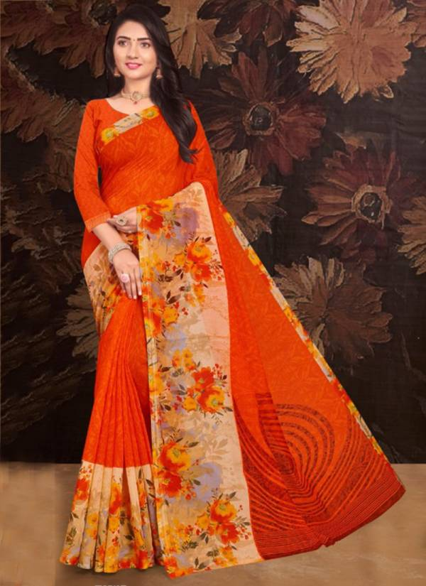 Ishika Casino Silk Series 101-106 Rennial Latest Designer Traditional Wear Printed Sarees Collection