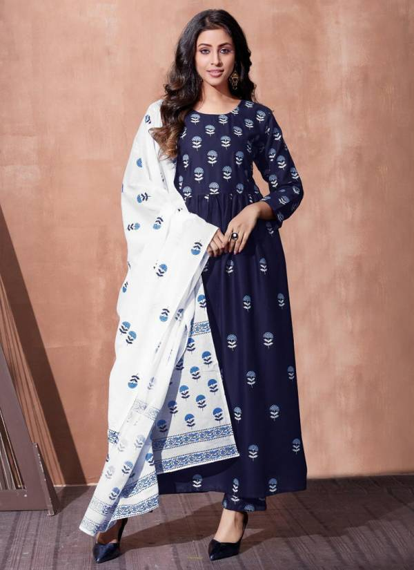 Blue Hills Capture Vol 1 Series 101CAPTURE-104CAPTURE Rayon Printed Casual Wear Latest Designer Readymade Salwar Suits Collection