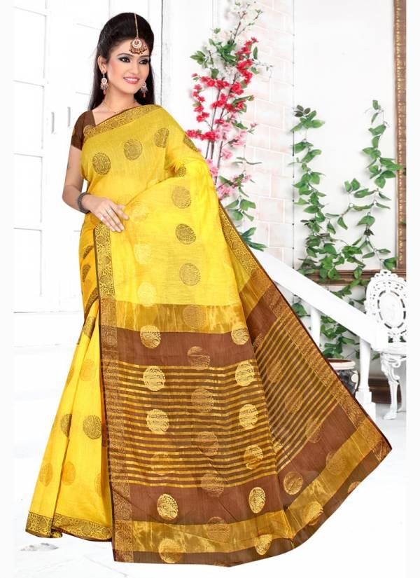 Kodas Jadoo Series 8643A-8643D Poly Cotton Zari Work Buy Now Festival Wear Sarees Collection