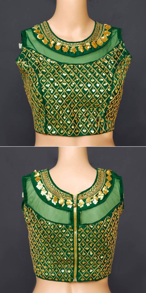 Ruhi Fashion Series 1-9 Phantom Silk With Sequence Work Bollywood Style Party Wear Blouses Collection