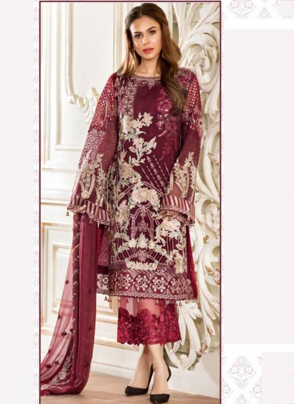 Fepic Series 1064-1085 Georgette Net With Organza Heavy Embroidery Work New Designer Eid Special Pakistani Suits Collection