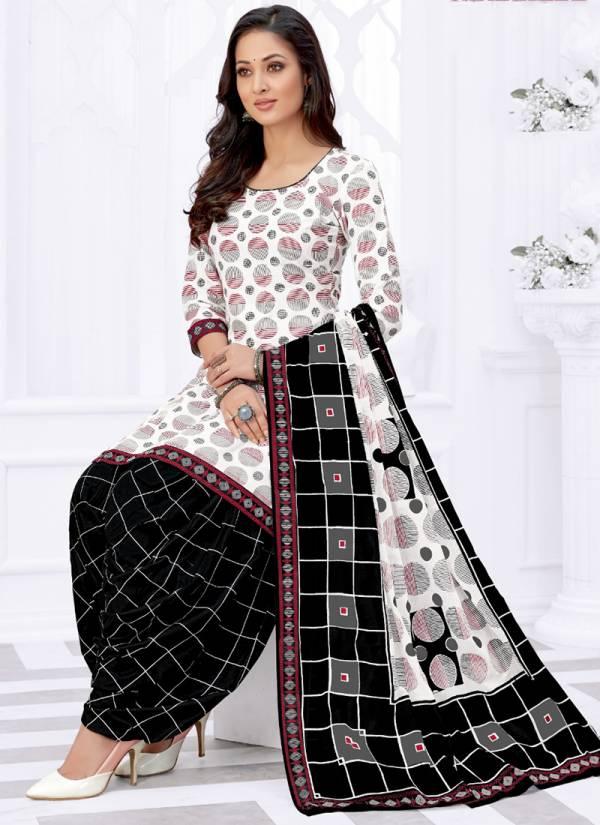 Rajasthan Industries Patiyala Pari Vol 8 Series 8001-8018 Cotton Printed New Fancy Regular Wear Readymade Patiyala Suits Collection