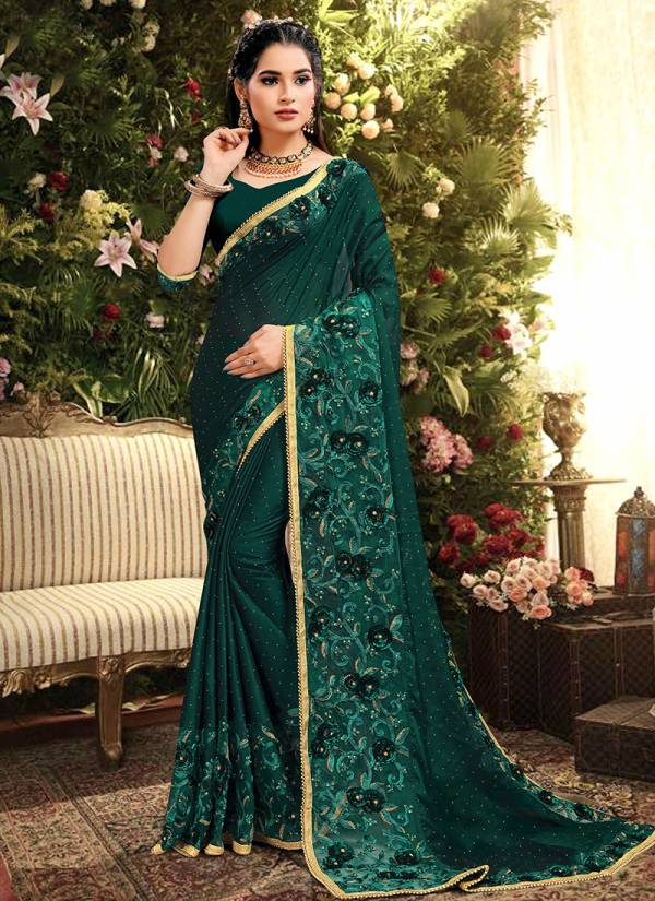 Nari Fashion Super Star Series 2771-2775 Rangoli Silk With Heavy Embroidery Work Gorgeous Look Party Wear Sarees Collection