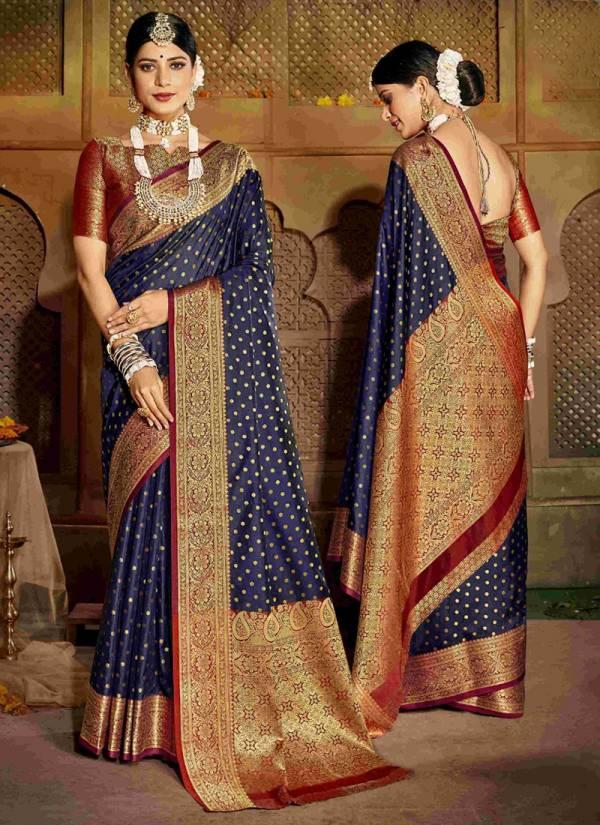 Shakunt Manmohini Art Silk Fancy Designer Digital Printed Work With Rich Pallu Wedding Wear Designer Sarees Collection