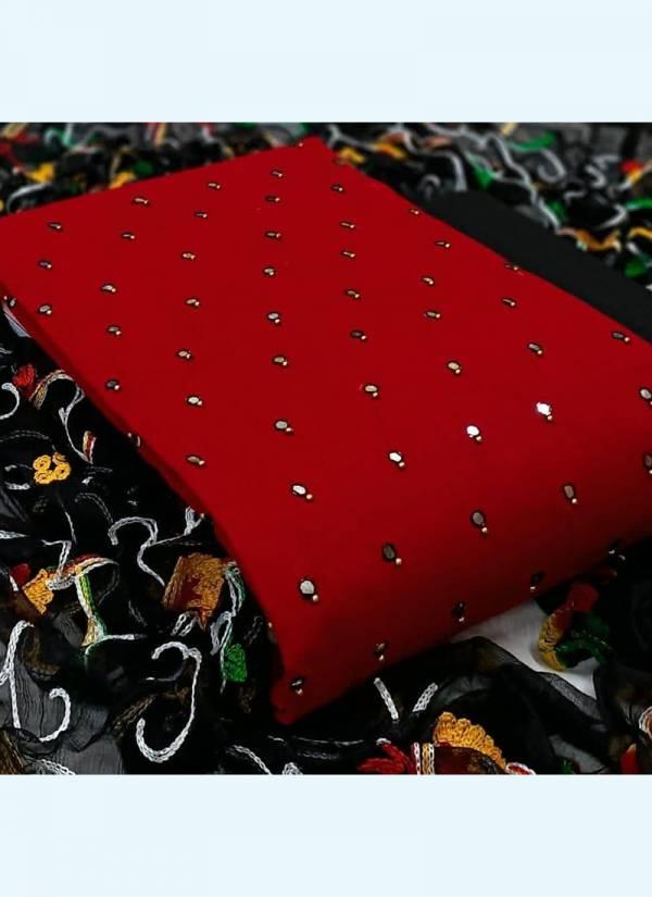 Shree Bherav Suits Series NY-101-NY-108 Slub Cotton Designer Festival Wear Salwar Suits With Aari Work Dupatta Collection