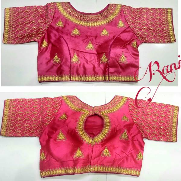 Ruhi Fashion Series 301-308 Phantom Silk With Zari Codding Work Wedding Wear Blouse Collection
