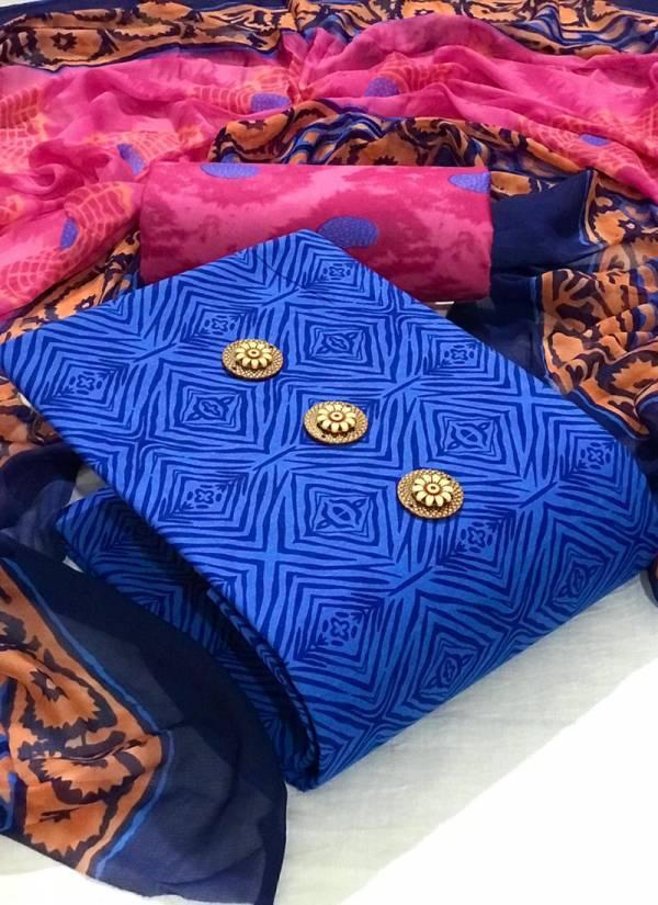 Designer Suit Semi Lawn Cotton Printed Work Daily Wear Designer Non Catalog Salwar Suits Collection