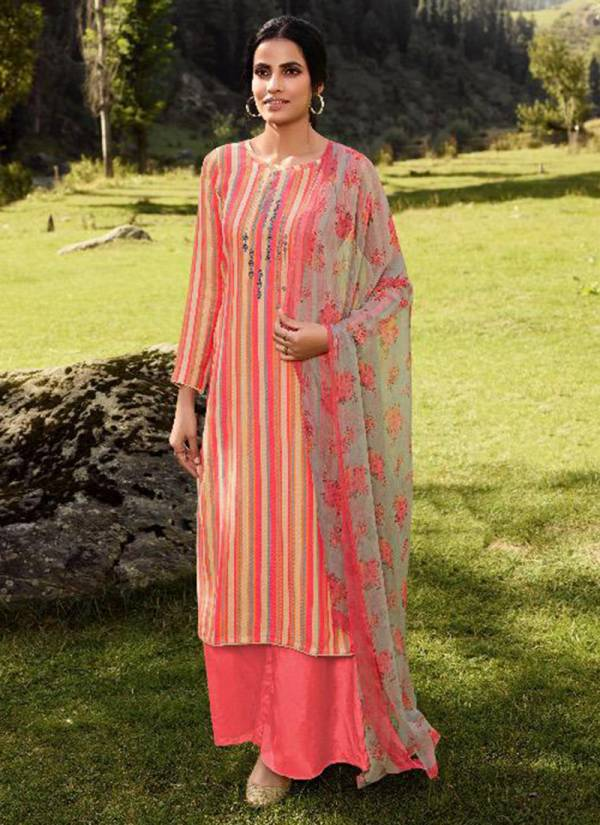 Winter Series 101-106 Pashmina Digital Print Fancy Casual Wear Suits Collection
