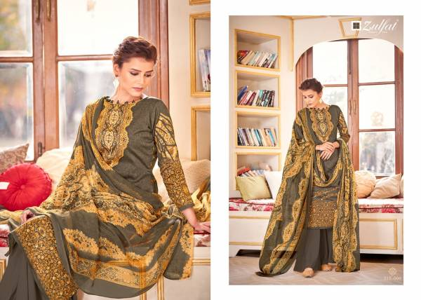 Zulfat Designer Antara Pure Jam Cotton Digital Printed Work Casual Wear Designer Palazzo Suits Collection