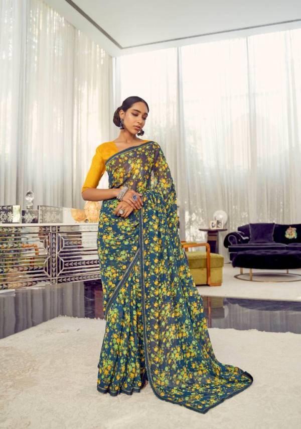 Kashvi Creation  Arth Weightless With Border Daily Wear Designer Sarees Collection