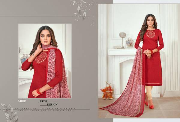 Shagun Oscar Vol 14 Mix Fabric Fancy Designer Churidar Suits Collection