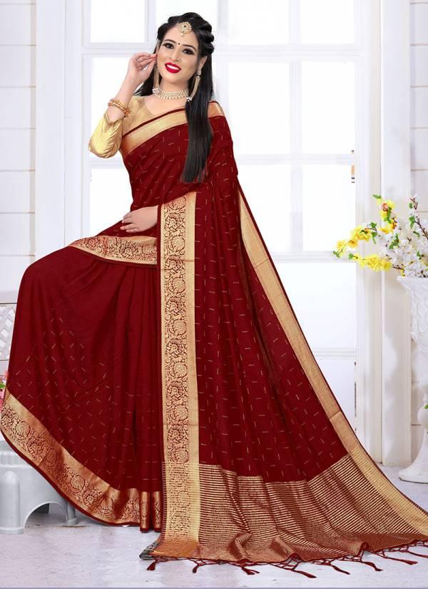 Nari Fashion Craftsy Series 2761-2770 Rainbow Zari Patta Satin Silk With Heavy Swarovski Work Party Wear Latest Designer Sarees Collection