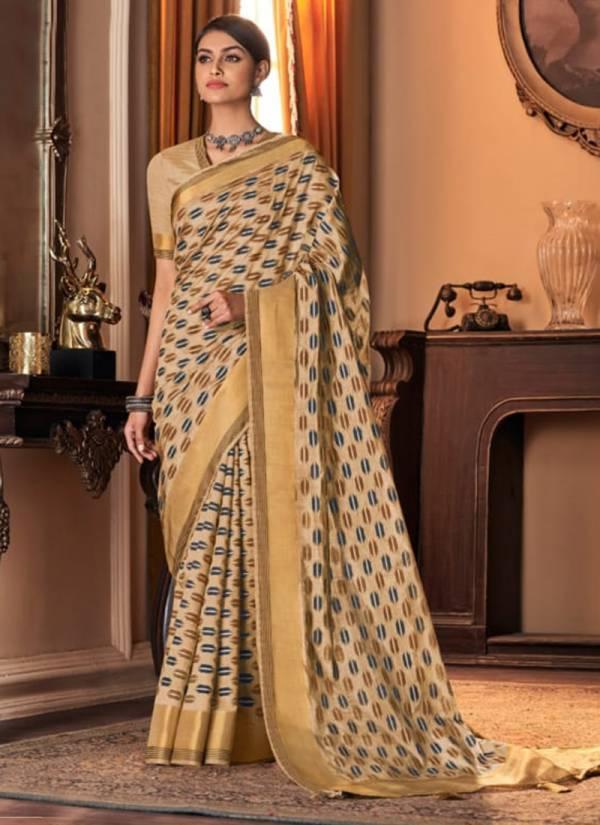 Vanya Designer Vol 20 Silk Fancy Printed Regular Wear Designer Sarees Collection