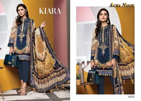 Agha Noor Vol 3 Series 1031-1040 Lawn Cotton Designer Karachi Style Pakistani Suits Collection