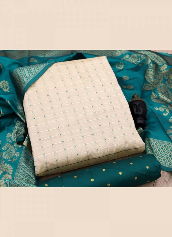 Rahul Nx Bamboo Silk Series BS1-BS6 Banarasi Silk New Designer Weaving Latest Designer & Casual Wear Salwar Suits Collection