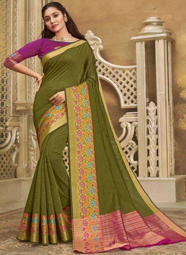 Sangam Mysore Series Sgmys2001-Sgmys2008 Silk Handloom Cotton Silk Latest Designer Festival Wear Sarees Collection