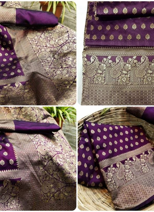 TSS Series SS017-SStab023 Soft Lichi Silk With Heavy Contrast Pallu Latest Designer Party Wear Sarees Collection