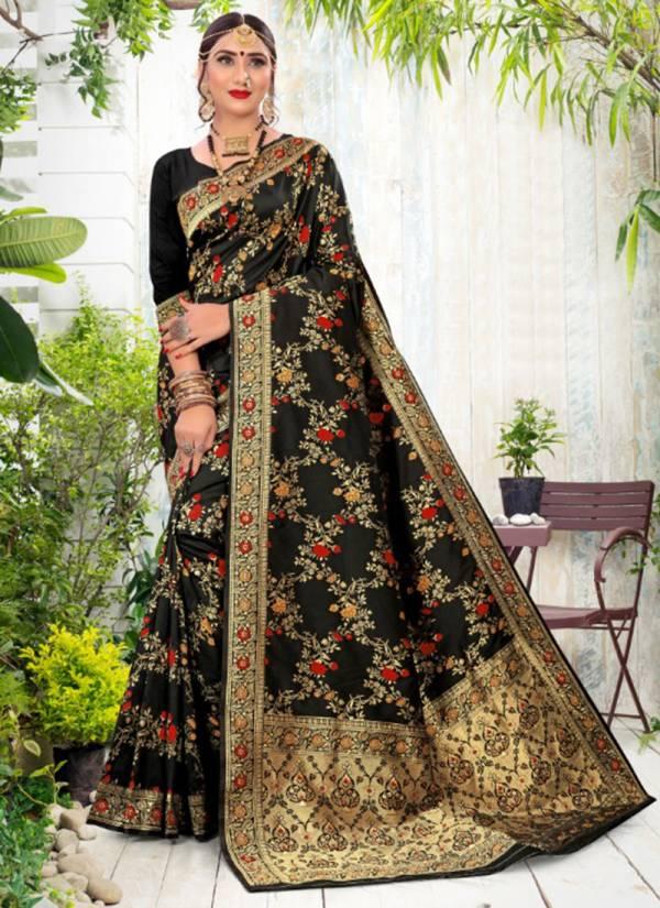 Sanjana Designer Meera Vol 2 Soft Silk Weaving Rich Pallu Wedding Wear Sarees Collection