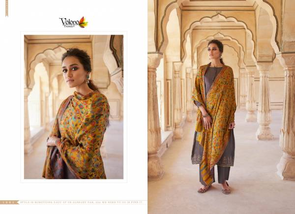 Volono Trendz  Era Vol 1 Series 1001-1008 Pure Jam Cotton Printed With Heavy Self Embroidery Work Party Wear Salwar Suits Collection