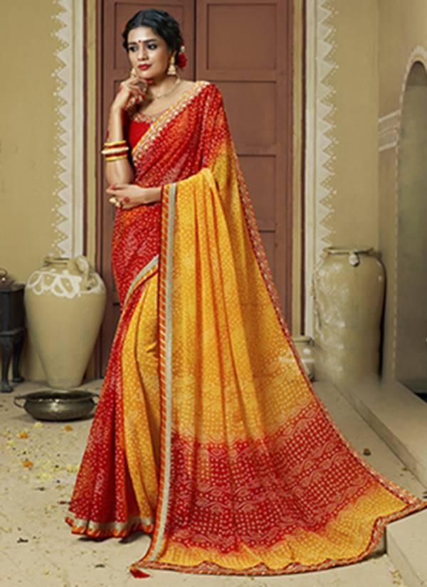 KVS Bandej Live Series 1036-1040 & KVSSR2136BND_V10-KVSSR3342BND_V11 Dola Silk With Heavy Embroidery Work Designer Festival Wear Sarees Collection