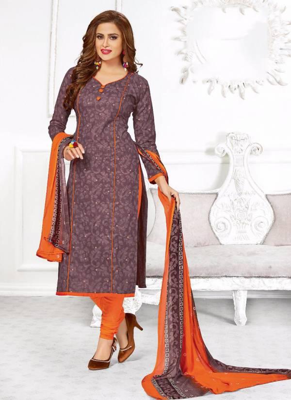 Kundan Prints Hi Choice Vol 7 Series 7001-7018 Pure Cotton Stylish Printed Regular Wear Suits Collection