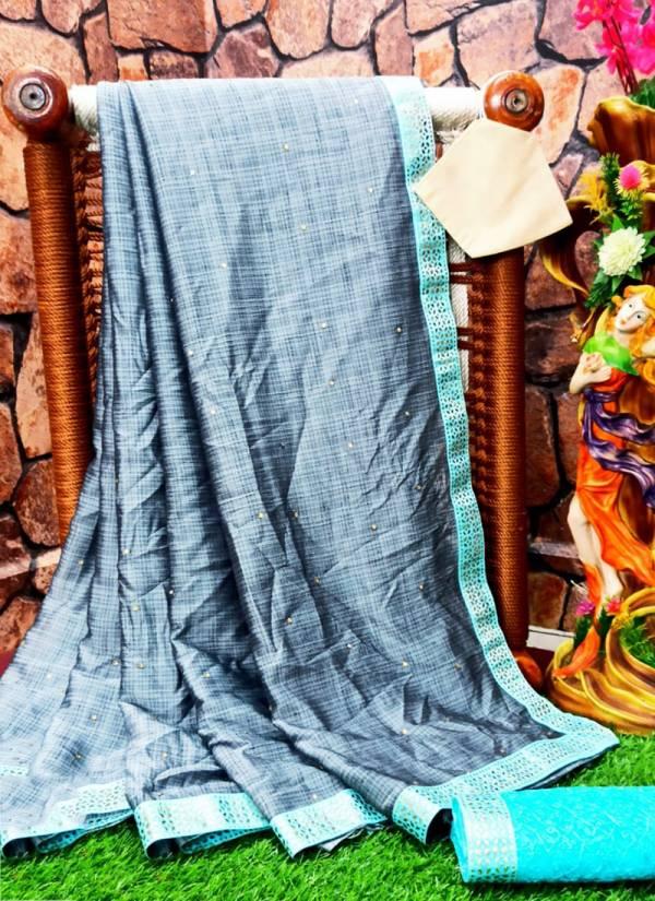 Narayani Fashion House Series 101RF-106RF Banglori Silk With Gota Patti Embroidery Work Fancy Sarees Collection