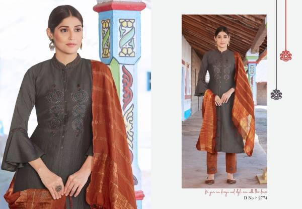 Rangoon Foram Chinnon With Additional Work Festival Wear Readymade Suits Collection