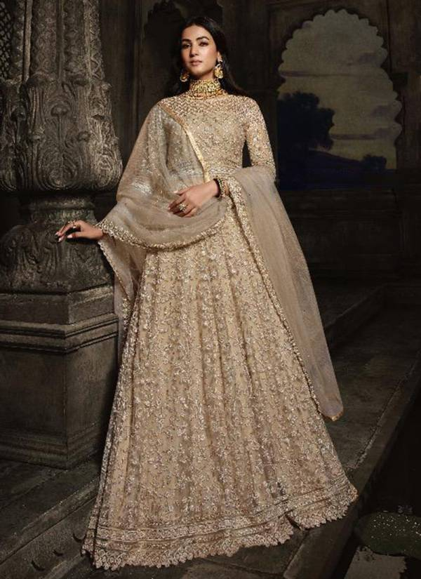 Vouch Fashion Moh Series 8801-8807 Net With heavy Designer Work Ramzan Eid Special Anarkali Suits Collection