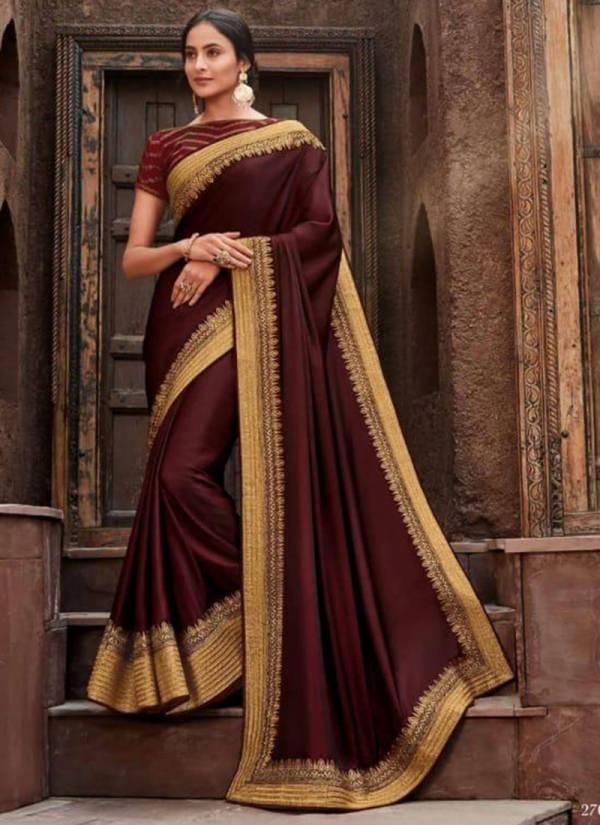 Vanya Vol 17 Series 2701-2708 Latest Designer Silk Festival Wear Sarees Collection