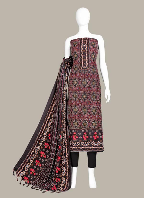 Bipson Series 209A-209D Pure Pashmina Digital Print Winter Season Special Fancy Salwar Suits Collection